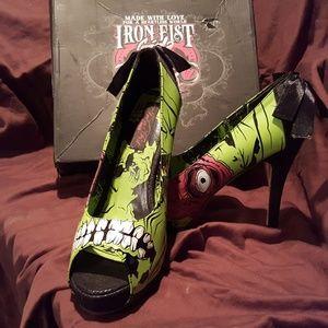 Iron Fist Zombie Heels
